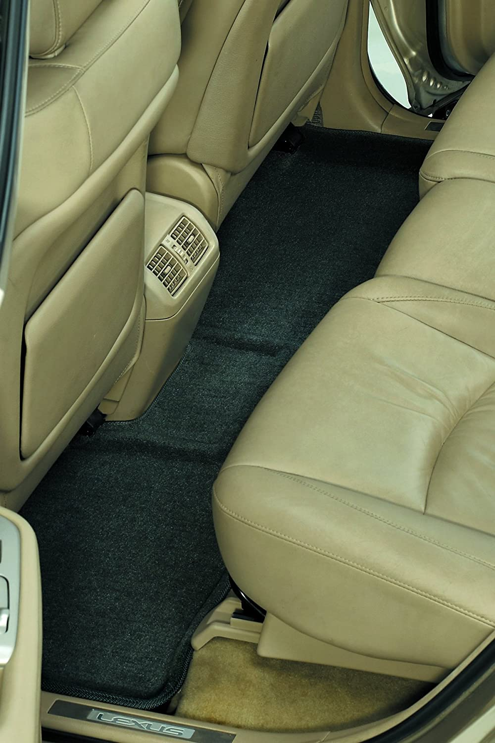 Classic Carpet 3D MAXpider Third Row Custom Fit All-Weather Floor Mat for Select Buick Enclave //Chevrolet Traverse //GMC Acadia Models Gray