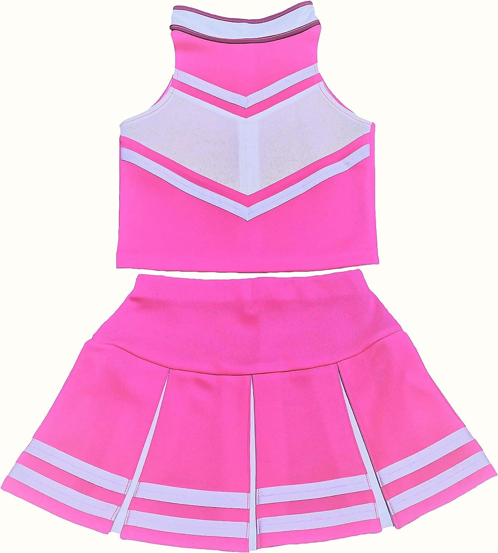 Omaha 100% quality warranty! Mall Big Girls' Women Cheerleader Costume Uniform Adult Cheerleading