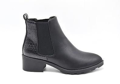 Boots Petit Talon Noir FELGCKLyL