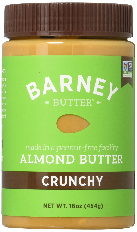 Barney Butter Almond Butter, Crunchy, 16 Ounce (Pack of 3) by Barney Butter