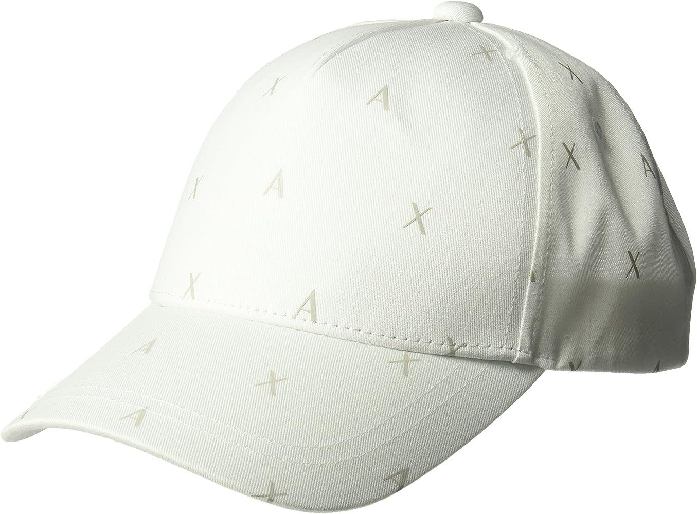 A|X Armani Exchange Hombres 9540478P312 Gorra de béisbol - Blanco ...