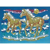 Sequin Art and Beads Horses