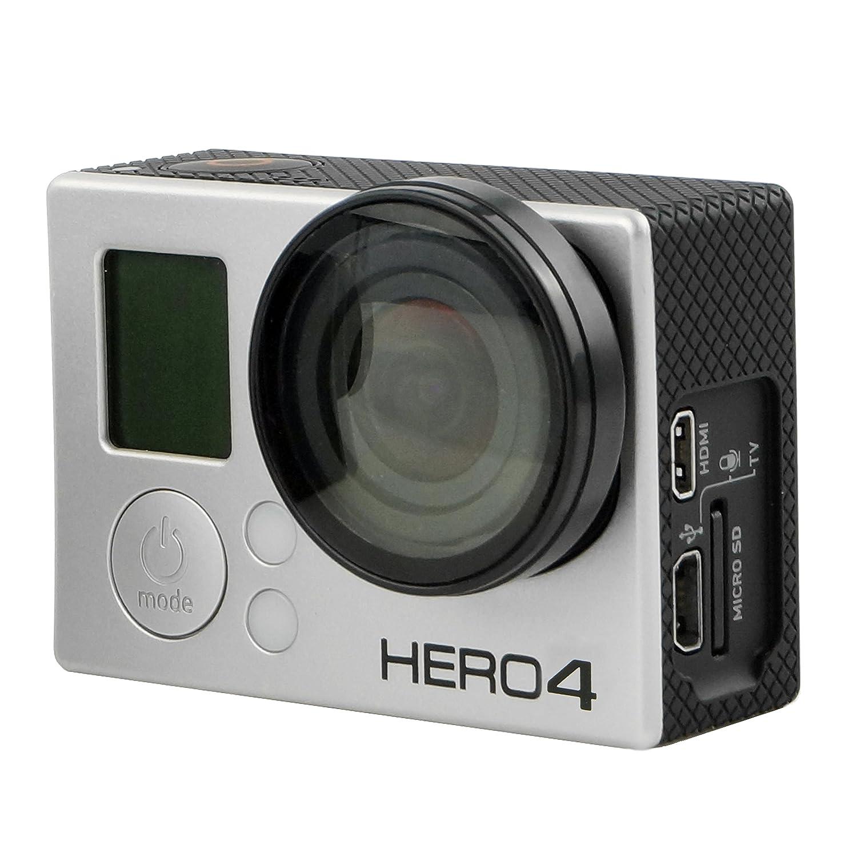 Telaio Estensione per GoPro CamKix 1 Vite a Galletto // Custodia Leggera e Compatta per la tua Action Camera HDMI e Slot SD Totalmente Accessibili Compatibile con GoPro Hero 4 Black e Silver 3 e 3+ // USB Da utilizzare con LCD e Batteria Estensione