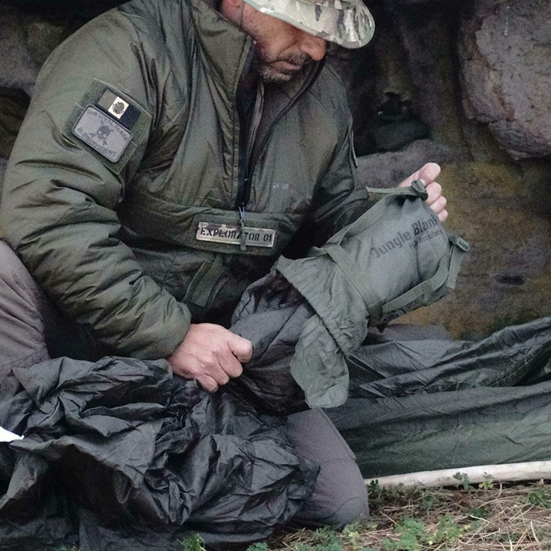 Snugpak Survival New Jungle Blanket Olive 92246