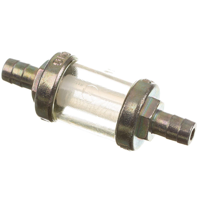 Benzinfilter (Kraftstofffilter) 8mm massive Metallausfü hrung (Leitungsfilter) Simson+MZ ETZ & TS MZA GmbH - Offizieller Händler