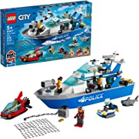 Deals on LEGO City Police Patrol Boat 60277 Building Kit
