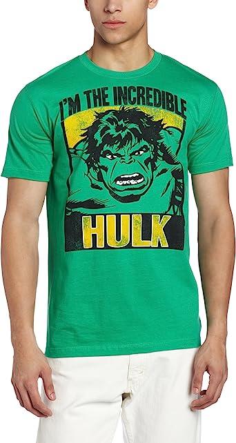 Marvel - Camiseta - para Hombre: Amazon.es: Ropa y accesorios