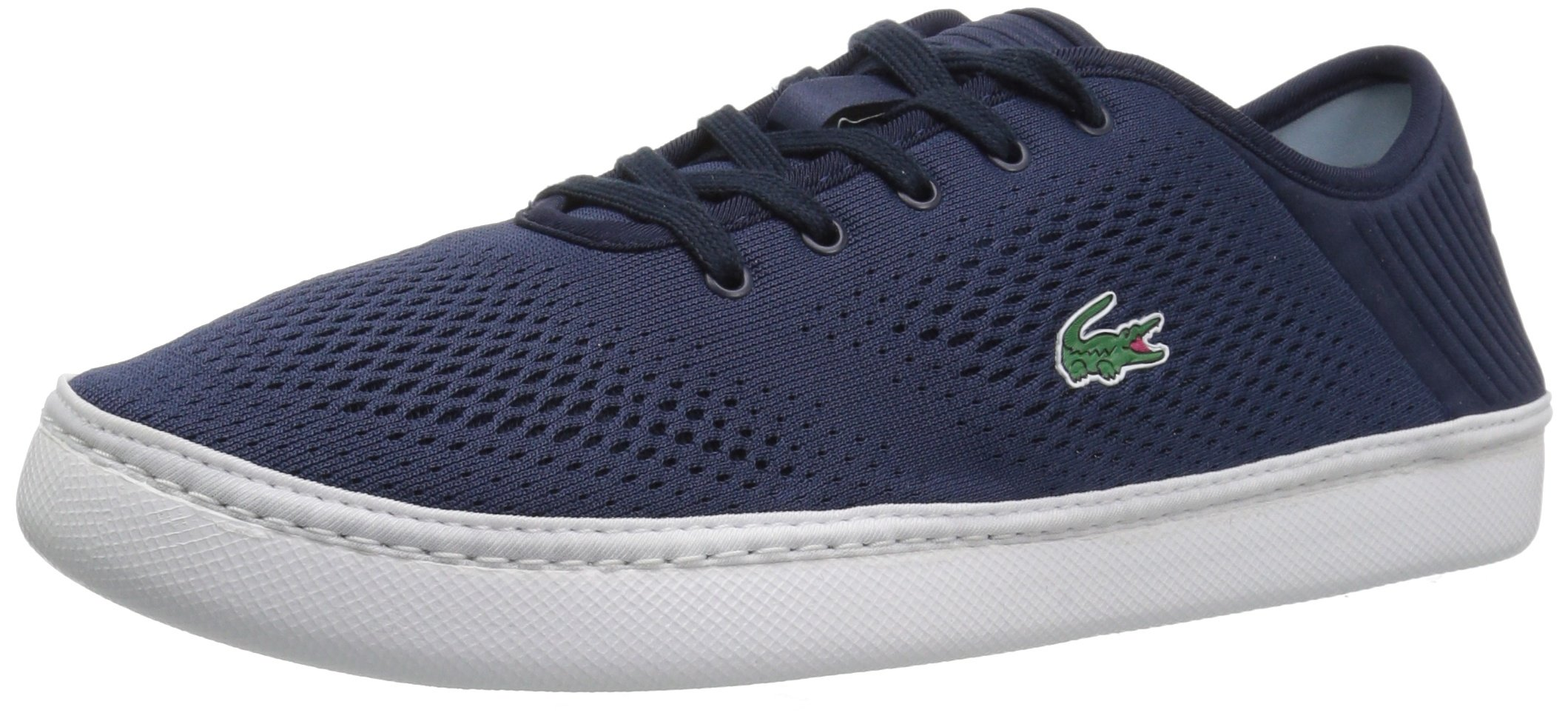 Lacoste Men's L.ydro Lace Sneakers,NVY/White Textile,10.5 M US by Lacoste (Image #1)