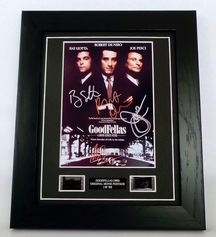 Goodfellas Signed + Goodfellas Film Cells Framed by artcandi