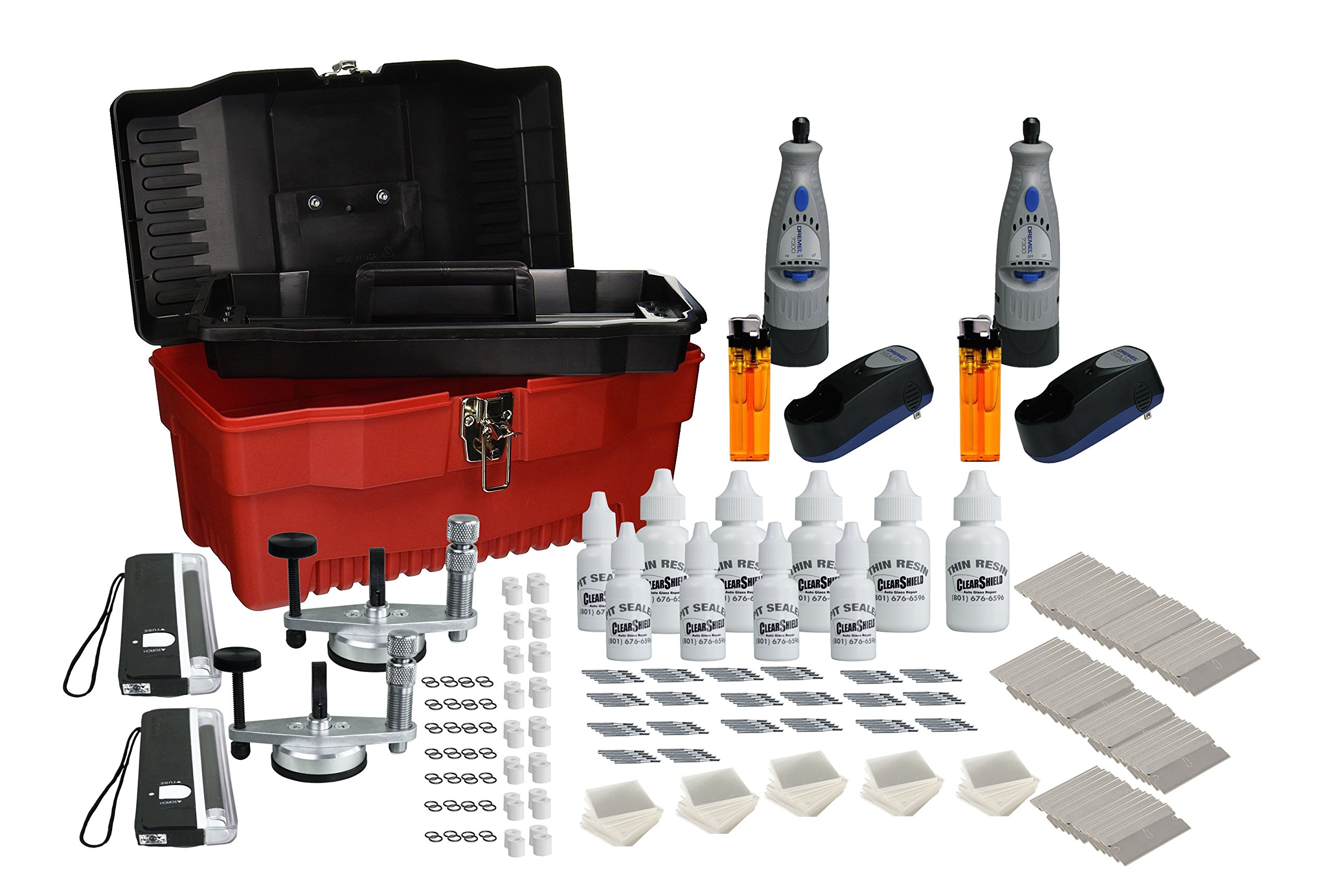 Professional Windshield Repair Kit: Performs Over 1,000 Rock Chip Repairs