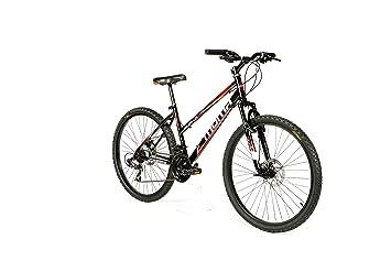 """Moma Bikes Bicicleta Montaña SUN 26"""", SHIMANO 21V. Doble Freno Disco, Susp"""