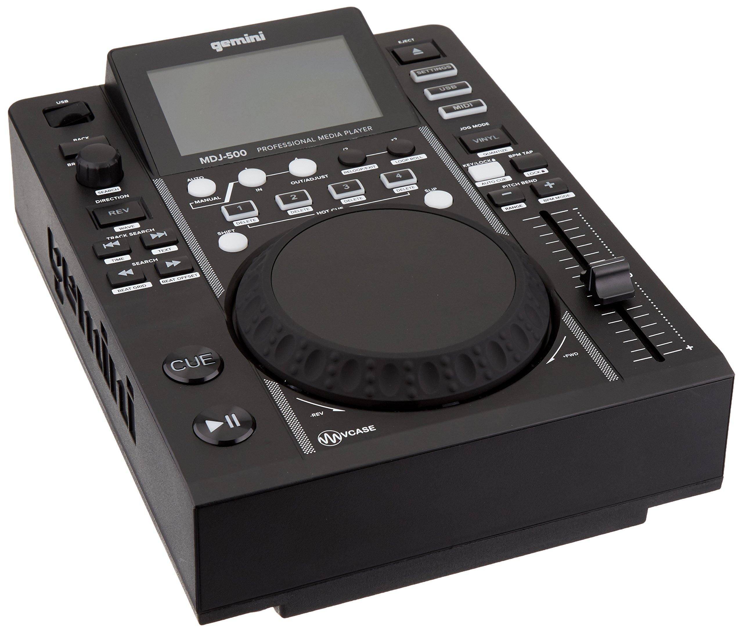 Gemini MDJ-500 | Professional DJ USB Media Player by Gemini Kaleidoscopes