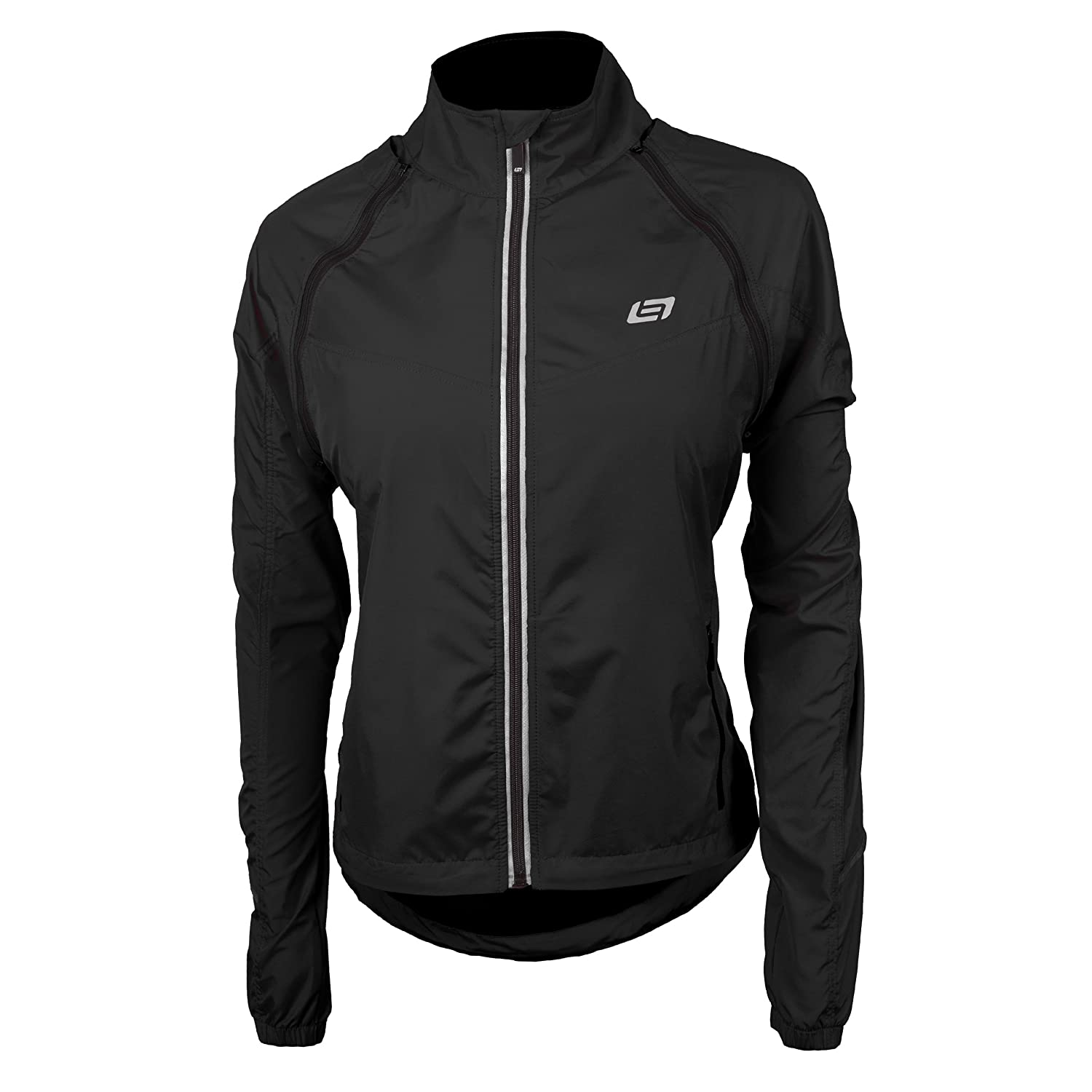 Bellwether Women's Convertible Jacket Black Small Bellwether Cycling Clothing 93520