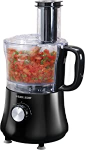 Black & Decker FP1140BD 8-Cup Food Processor, Black