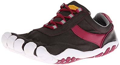 detailed look f97c4 d7894 Vibram FiveFingers Women s Speed XC Black Rose White Athletic Shoe