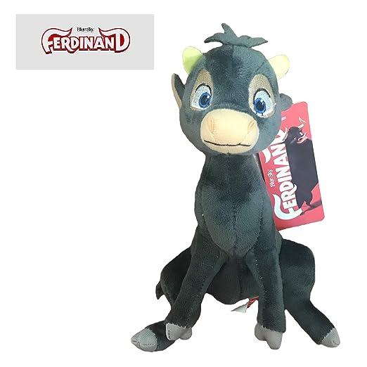 Ferdinand - Peluche del toro Ferdinand joven ternero 19cm Calidad super soft: Amazon.es: Juguetes y juegos