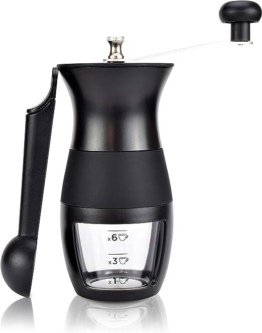 Manuelle Kaffeemühle Handmühle unterwegs Keramik Kegelmahlwerk Espressomühle