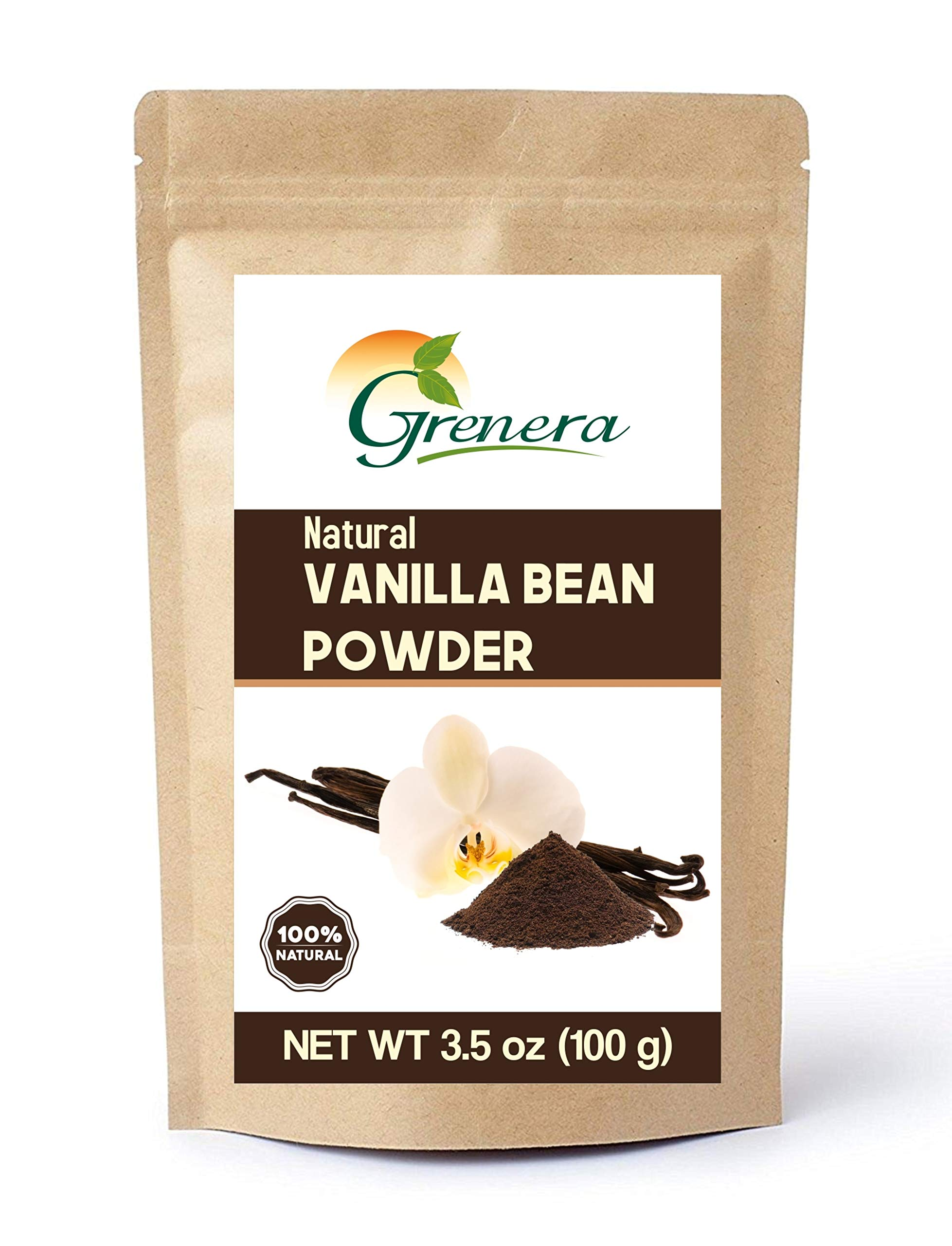 Grenera Vanilla Bean Powder-3.5 Oz
