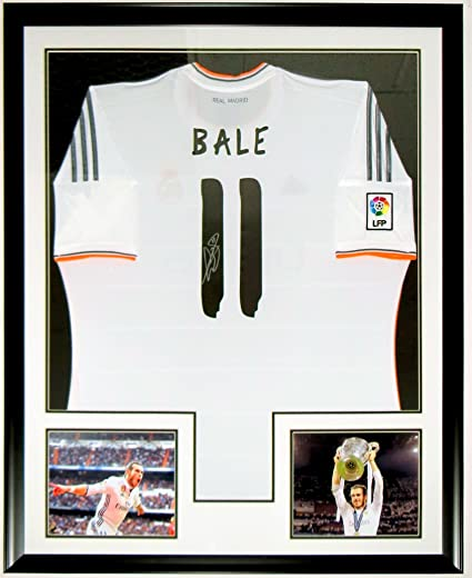 official photos 1c251 b68a4 Gareth Bale Signed Adidas Real Madrid Jersey - JSA COA ...