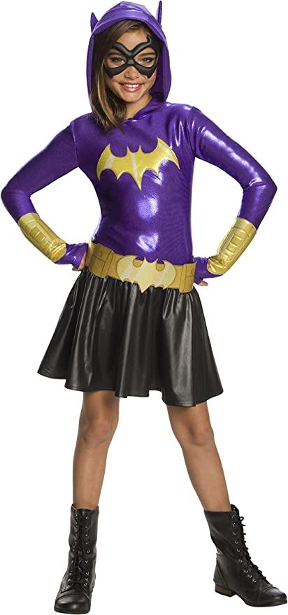 Rubies Disfraz de Batgirl para niña Deluxe - DC Super Hero Girls ...