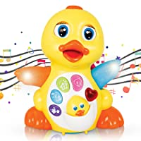 CifToys Musical Duck Toy Walking Flapping Dancing Duck Toys Deals