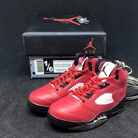 best service 385f2 3d10c Amazon.com : Pair Air Jordan V 5 Retro Raging Bull Toro Red ...