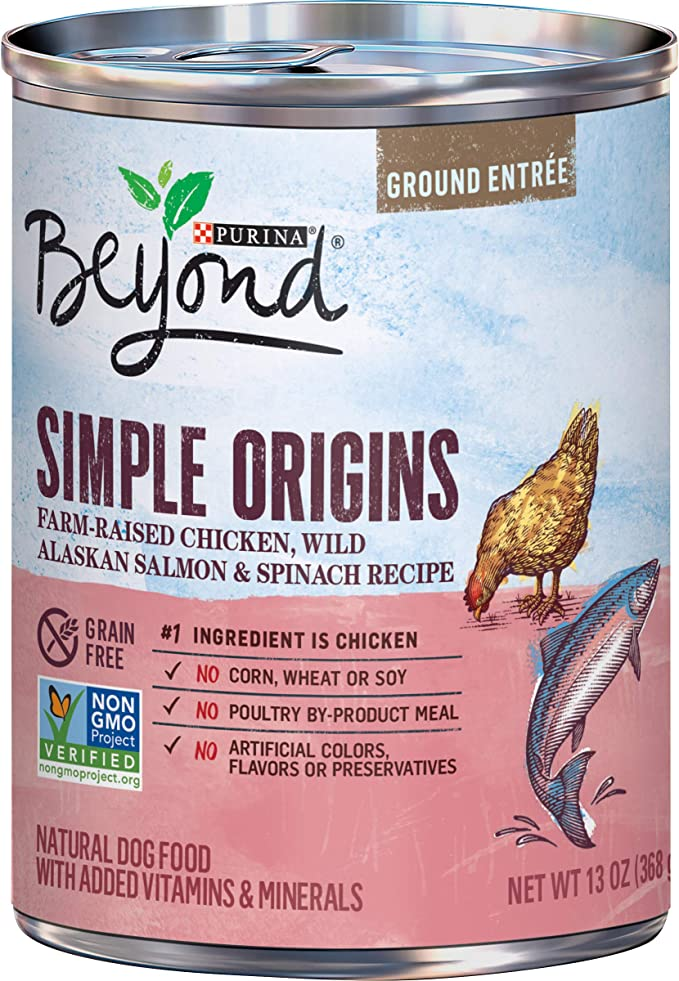 Purina Beyond Simple Origins Natural Wet Dog Food - Best Wet Dog Food for Hypothyroidism