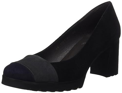 Ante, Zapatos de Tacón con Punta Cerrada para Mujer, Varios Colores (Make/Brown), 40 EU Gadea