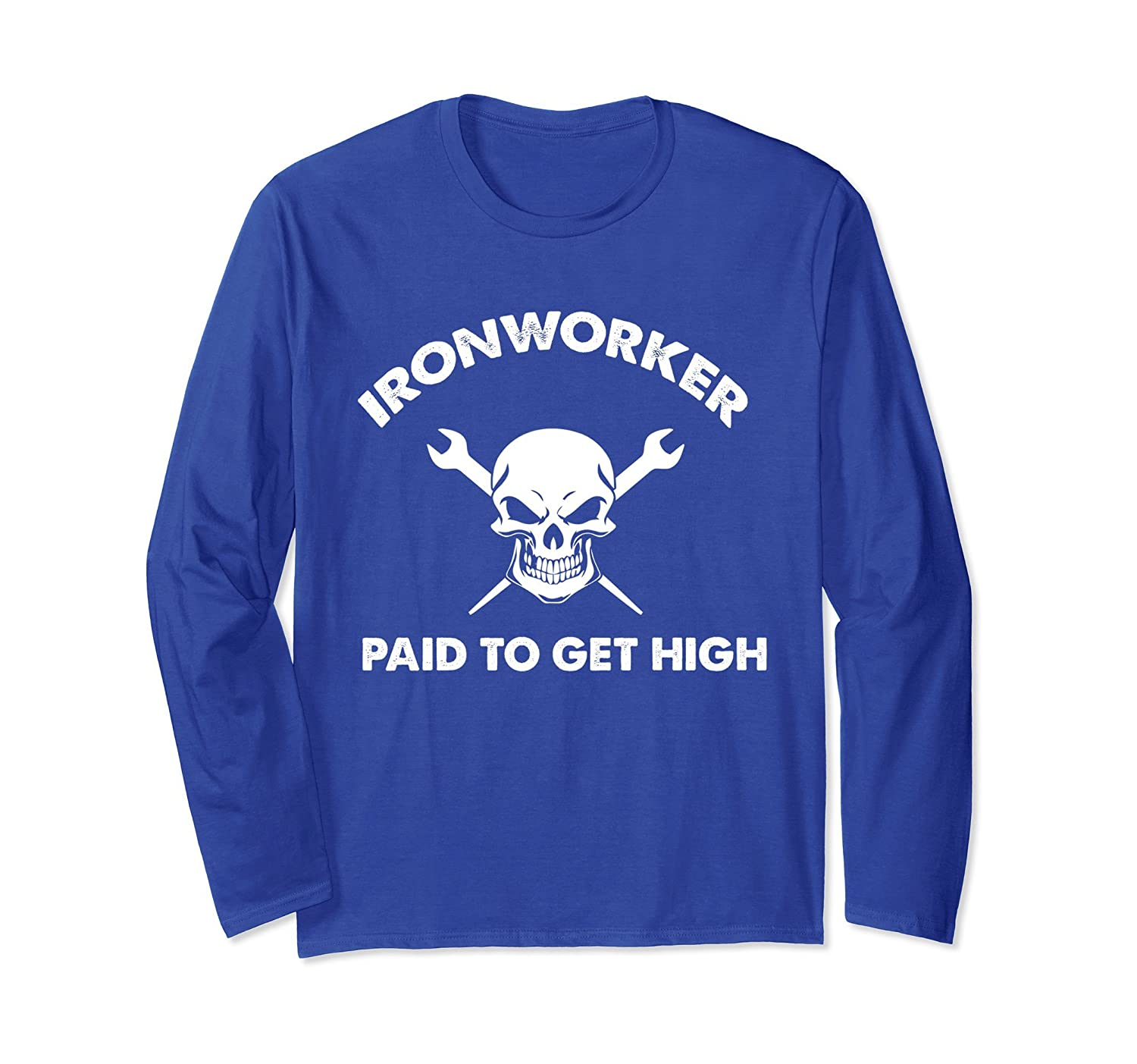 Ironworker shirt paid to get high christmas gift-TH