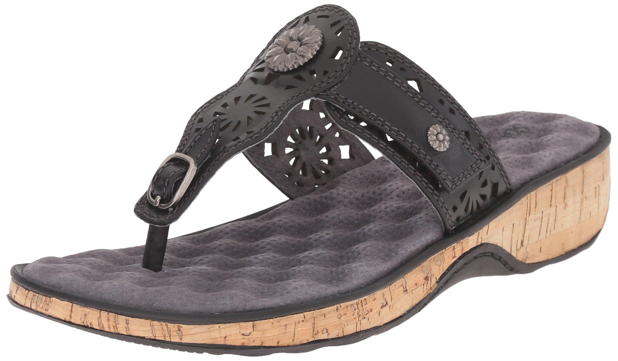 Softwalk Women's Beaumont Slide Sandal, Black, 7 M US