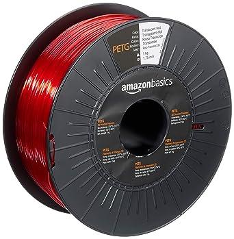AmazonBasics - Filamento para impresora 3D,tereftalato de ...
