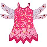 Dressy Daisy Girls Mia and Me Fairy Fancy Dress Costume Halloween Party Outfit w/Wings