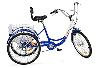 "Komodo Cycling 24"", 6-speed Adult Tricycle #7002"