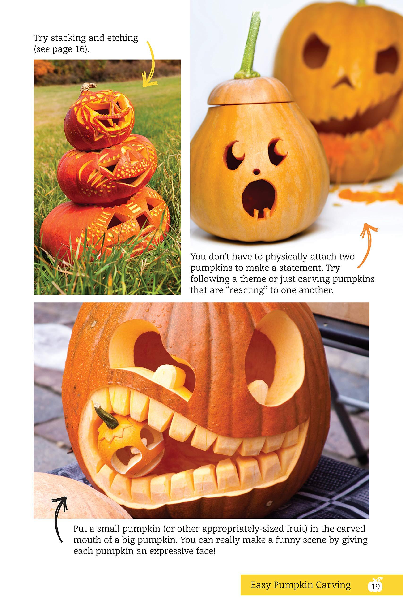 Easy pumpkin carving spooktacular patterns tips ideas fox