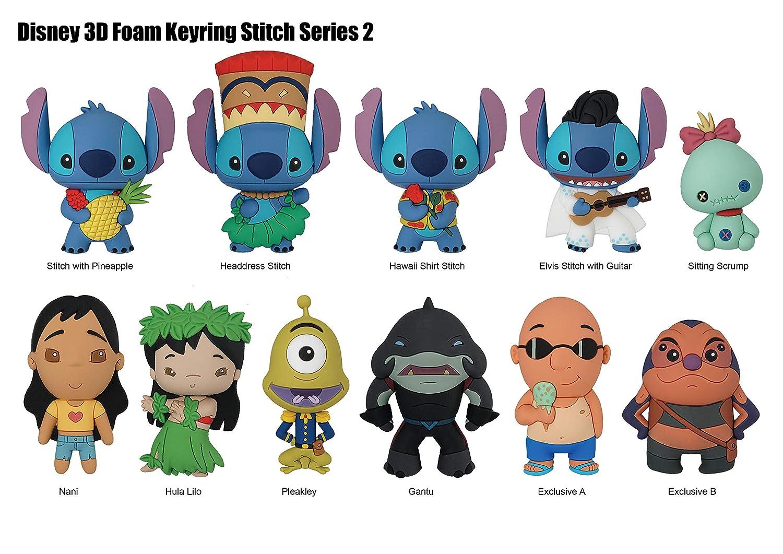 Monogram Lilo & Stitch Series 2 Figural Llavero Mystery Pack ...