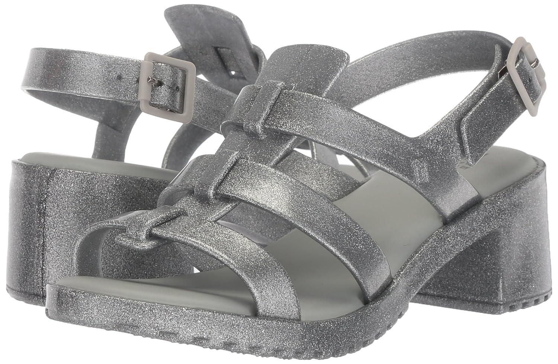 0aacbff54a Mini Melissa Girls' Mel Flox High Heeled Sandal Silver Glitter 3 Regular US  Little Kid: Amazon.com.au: Fashion