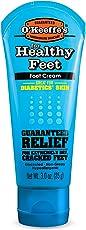 Crema de pies O'Keeffe's para pies saludables, Tubo, 1 paquete, Azul