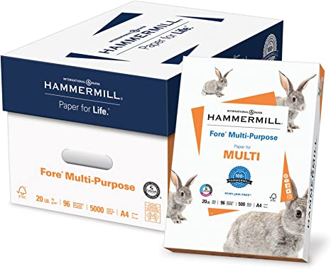 Amazon.com: Hammermill Paper, papel multiusos Fore A4 ...