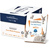Hammermill Paper, Fore Multipurpose Paper, A4 Paper, 210mm x 297mm, 20lb Paper, 96 Bright, 10 Reams / 5,000 Sheets (103036C) Acid Free Paper
