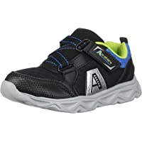 Airators Mantis Toddler Boys Running Shoes - Perfect for Walking, Running & Everyday Use - Pull Tab & Adjustable Adhesive Closure for Easy Slip On/Off (Toddler & Little Kid Sizes)