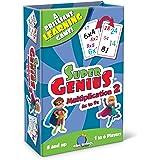 Super Genius - Multiplication 2 Card Game
