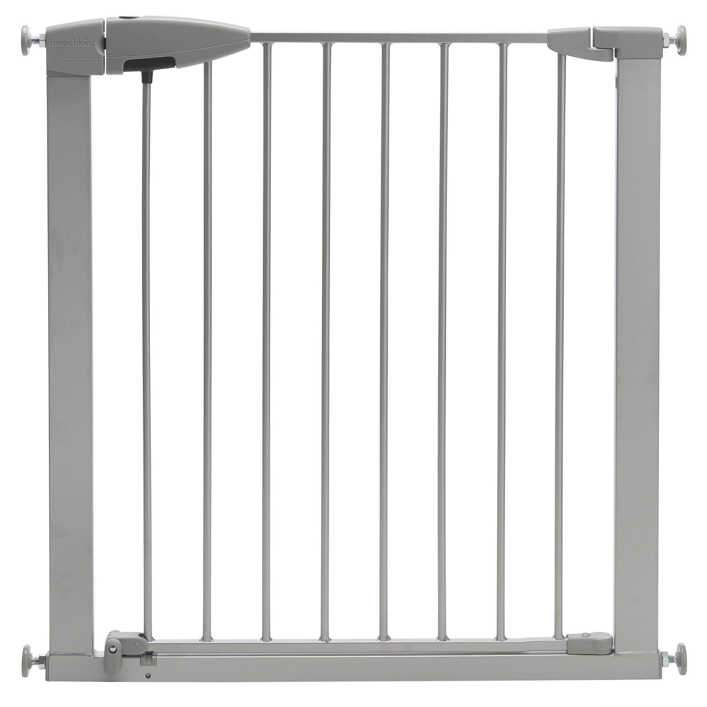 Munchkin Easy Close Metal Baby Gate, Silver, Model MK0002-022