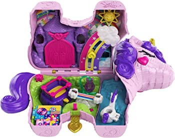 Polly Pocket With 25 Surprises Inside Unicorn Toys
