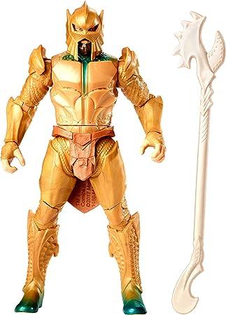 Detallada figura de 15 cm de la película Liga de la Justicia de un soldado de Atlantis,Figura totalm