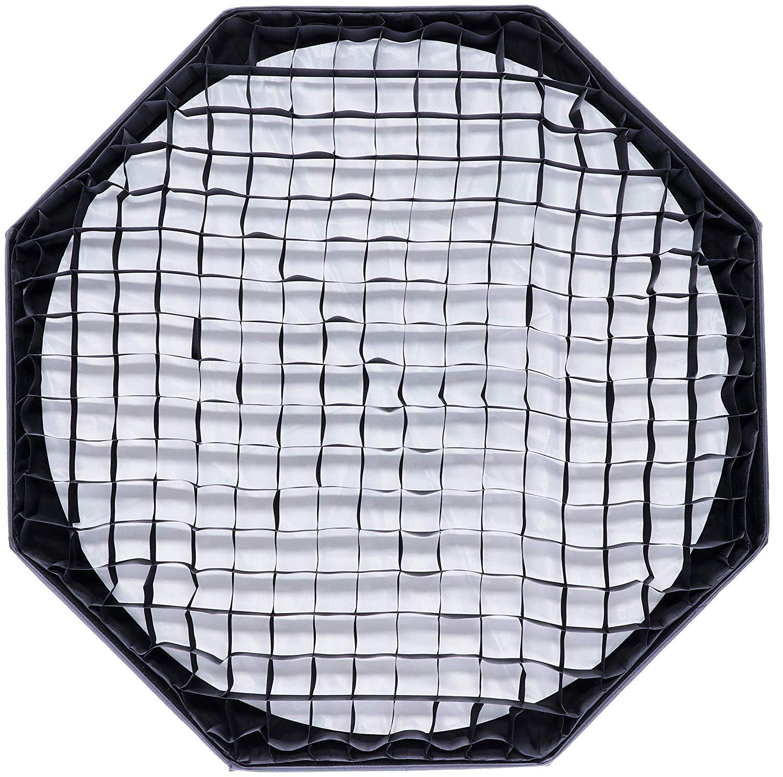 140 cm conexi/ón a Bowens Rollei Paraguas octabox plegable Incl Panal de abeja