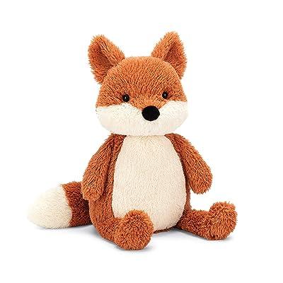 Jellycat Peanut Fox Stuffed Animal, Medium 12 inches: Toys & Games