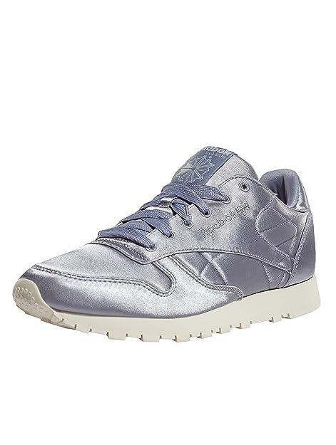 5331415816d Reebok CL Leather Satin W Calzado  Amazon.es  Zapatos y complementos