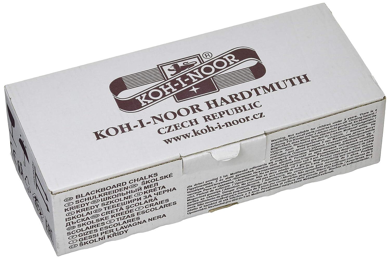 Pack of 100 KOH-I-NOOR Blackboard Chalk White