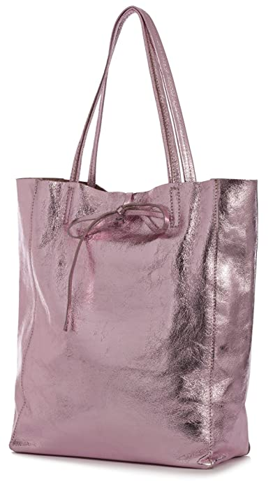 LiaTalia Vera Pelle Made In Italy LiaTalia Genuine Italian Soft Leather  Leightweight Large Hobo Shopper Shoulder 56dd2d499e61c