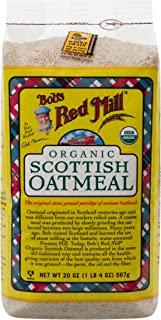 product image for Bob's Red Mill Organic Scottish Oatmeal, 20 Ounce Bags (Pack of 4)
